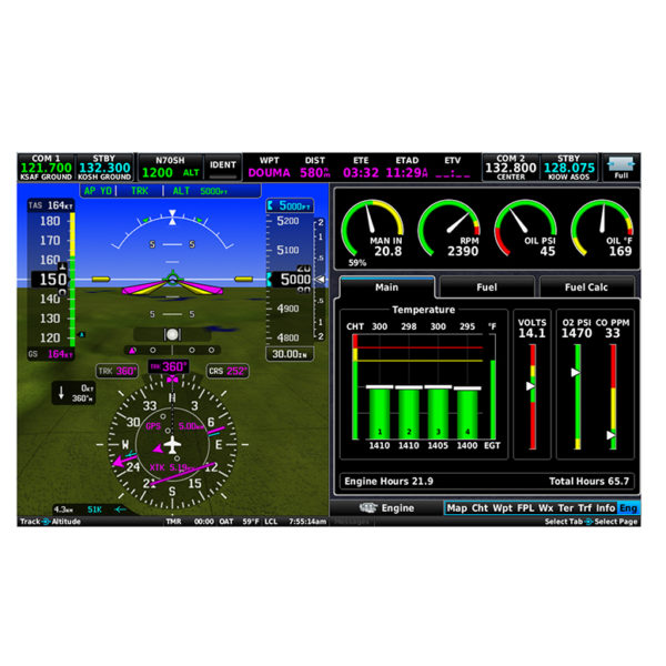 iEFIS Screen - MGL Avionics
