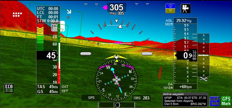 iEFIS 3d Textured View - MGL Avionics